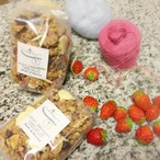 Milky Strawberry GRANOLA[Small Bag]