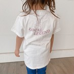 ★Kids★ LOCAL LEGEND Tee - Vanilla white