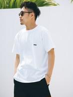 【5/26(WED)20:00 販売開始】ThreeArrows SMALL BOX 刺繍 S/S TEE (white)