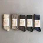 [わざわざ] リネン靴下 (Sサイズ)