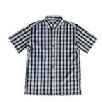 Mountain メンズ / ボタンダウンパラカシャツ / ネイビー