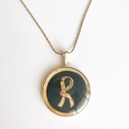 """Roberta"" black necklace[n-255]"