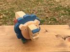 木のおもちゃ・Iroki  Animal ライオン