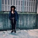 裏起毛 トラックパンツ ジャージパンツ KOKOBAKIA ワッペンロゴ ブラック ライン メンズ レディース #ロックファッション #ストリートファッション