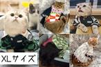 ペット用 コスプレ衣装 猫服 犬服 鬼滅の刃 風 鬼殺隊 鬼服 着物 【XLサイズ】 ★受注品★