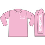 Freedom Sound Long Sleeve(Pink/White)