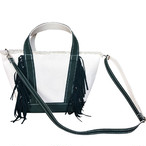 Side Fringe Tote Bag [small] /GREEN