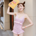 floral bathing slim swim wear 1377