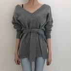 【tops】ベーシックなデザインvネック流行りセーター 24536044