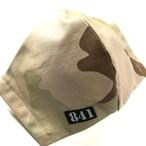 【841迷彩マスク】実生地使用 立体マスク3C DCU