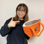 ニコニコ★ランチトートバッグ【オレンジ】