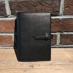 Bible size notebook cover バイブルサイズ手帳カバー ITALY CONCERIA800 Nero ブラック