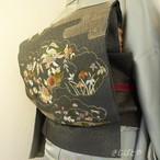 正絹 高麗納戸色の袋帯