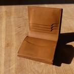 ボックス型コインケース付き2つ折り財布