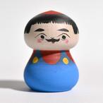 スーパーマサオこけし 約2寸 約5.4cm 長谷川優志 工人(津軽系)#0137