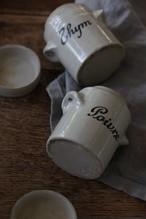 フランス 陶器のスパイスポット