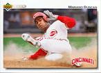 MLBカード 92UPPERDECK Mariano Duncan #659 REDS