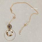 タロットカード「運命の輪」のネックレス