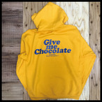 GIVE ME CHOCOLATE HOODIE【YELLOW】