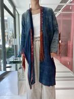 Red Dao  indigo  coat