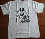 バニラホワイトTシャツ(むるおかブランド)