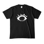 お目目さん*Tシャツ/黒