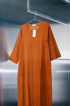 70's Brown Terracotta Dress