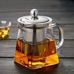 ティーポット 耐熱ガラス 350ml 急須 ガラスティーポット 茶こし ガラス 紅茶ポット