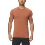 完売御礼【ASRV】Supima® フィットTシャツ - Red Clay