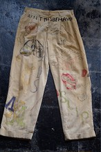 60s graffiti memorial pants