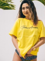 ThreeArrows S/S TEE(yellow)