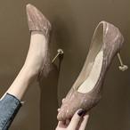 【shoes】パーティーセクシー大人可愛い印象パンプス25694713