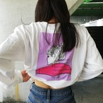 city girl long sleeve tshirt /pink