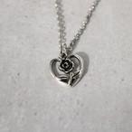 Heart Rose Necklace(金属アレルギー対応)