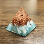 【30個限定】ミニピラミッド型オルゴナイト ラリマー