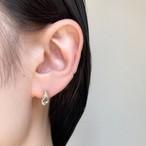 Candle light pierced earring