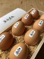【五穀豊穣 極み】最高級品【木箱入り】【末広がりの8個】大きな卵【縁起物】【贈答品】