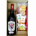 グルメギフト イタリア赤ワイン ヴァッレ・ダオスタ ピノ・ノワール とチーズ&ピコス5種