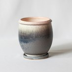 Basic bowl pot(blue gray)※Medium