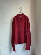 vintage floral pattern shirt blouse