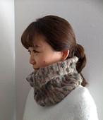 Tsubomiカウル(ツボミカウル)編み物キット byコリドーニッティング