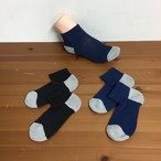 綿由来の天然炭素繊維を靴下の産地である奈良県の工場で編んだアンクルソックス