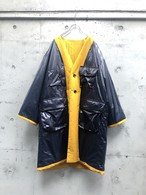 『my beautiful landlet』ripple finish reversible nylon coat/YELLOW SIZE 1