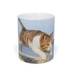 飛び猫マグカップ