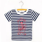 MEI KIDS border bear tee(KME-000-166008)