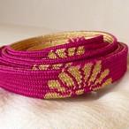 正絹 こっくりピンクの礼装用帯締め