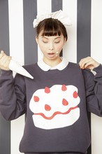 ※sold out ケーキスウェット