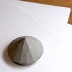 セメントダイヤモンドペーパーウェイト / リングホルダー(小)