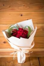 【バレンタインのプレゼントにおすすめ】ハートのブーケ