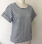 W012フレンチスリーブTシャツの型紙